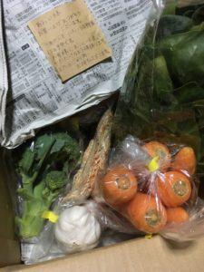 メルカリで野菜を買いました。~農家の助けになれば~